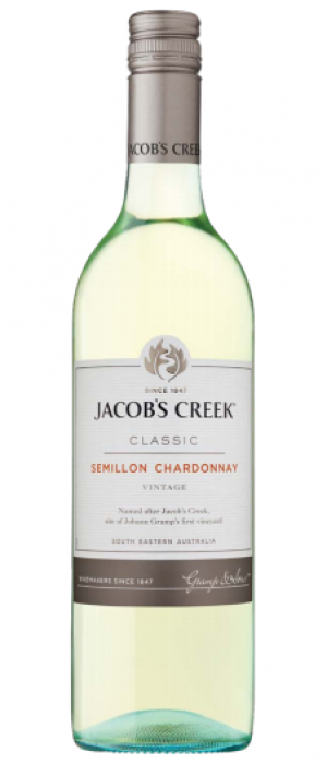 Jacob's Creek Classic 2015 Semillon Chardonnay Bottle