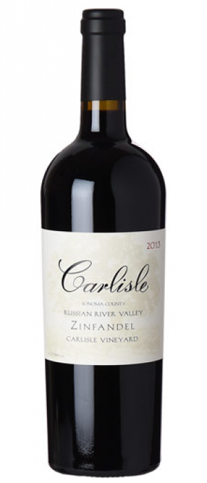 Carlisle Carlisle Vineyard 2014 Zinfandel Bottle