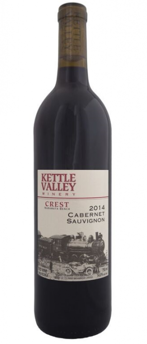 Kettle Valley Winery 2014 Cabernet Sauvignon Bottle