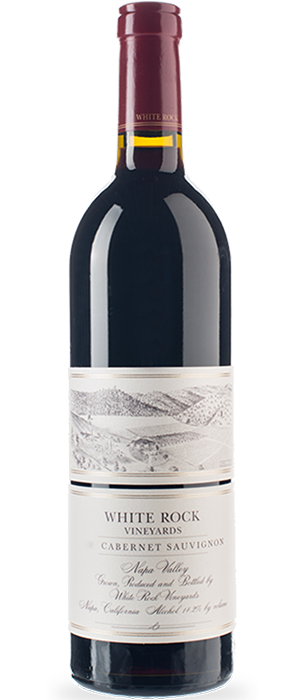 White Rock 2011 Cabernet Sauvignon Bottle