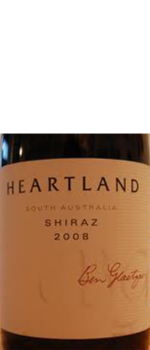 Heartland 2008 Syrah (Shiraz) Bottle