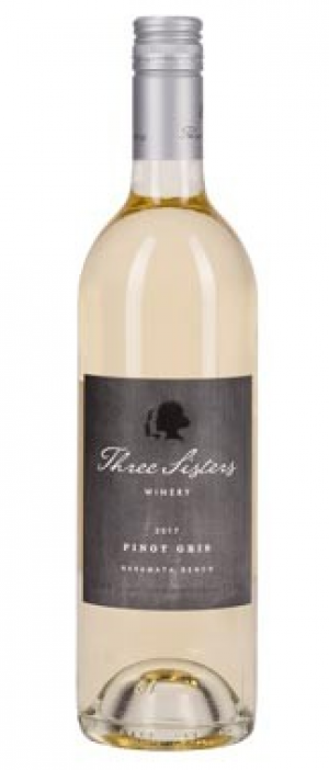 Three Sisters Winery 2017 Pinot Gris Bottle