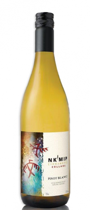 Nk'Mip Cellars 2017 Pinot Blanc Bottle