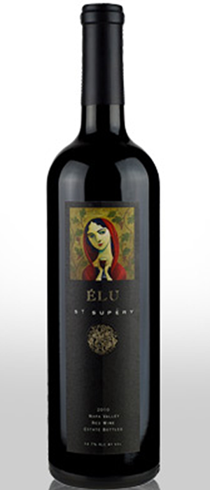 Estate Élu Napa Valley Red Wine Bottle