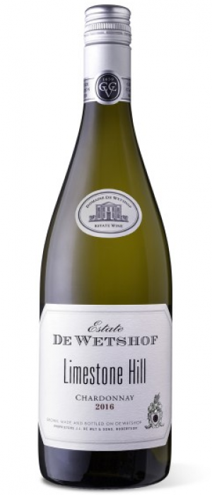 De Wetshof Estate Limestone Hill 2016 Chardonnay Bottle