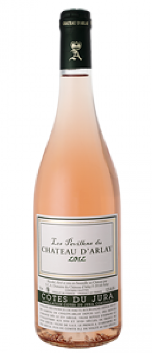 Chateau d'Arlay Cote du Jura Pavillons Rose 2014 Bottle