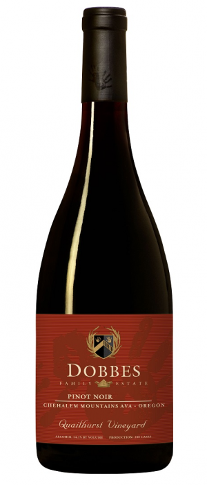 Dobbes Family Estate Quailhurst Vineyard 2010 Pinot Noir Bottle