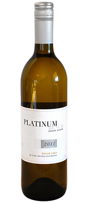 Platinum Bench Estate Winery & Artisan Bread Co. 2011 Pinot Gris (Grigio) Bottle