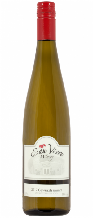 Eau Vivre Winery 2017 Gewürztraminer Bottle