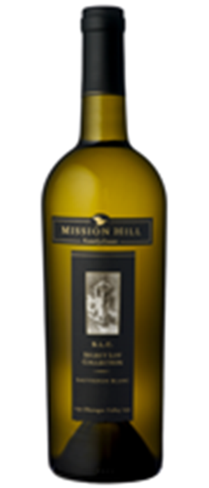 Mission Hill S.L.C. Select Lot Collection 2011 Sauvignon Blanc Bottle
