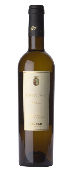 Alvear Capataz Fino Sherry Bottle