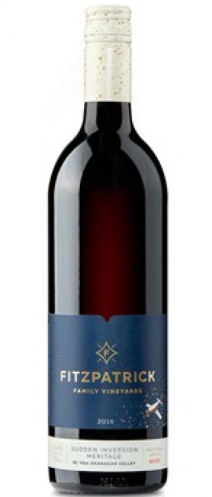 Fitzpatrick Family Vineyards 2016 Sudden Inversion Meritage Bottle