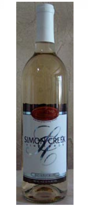 Simon Creek Vineyard & Winery Sauvignon Blanc Bottle