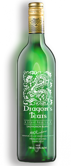 Dragon's Tears Grand Reserva Sauvignon Blanc Chile - Casablanca Valley Bottle