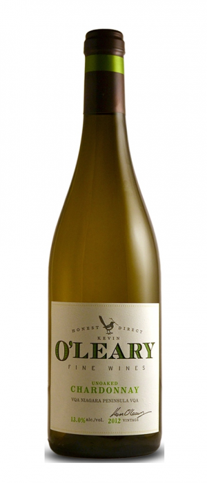 O'Leary Fine Wine Unoaked Chardonnay Bottle