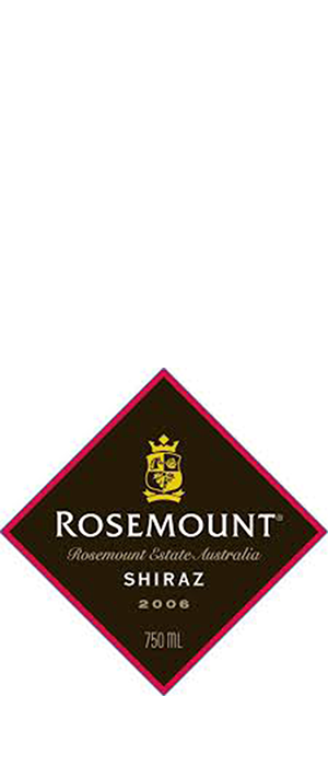 Rosemount Estate 2006 Syrah (Shiraz) Bottle