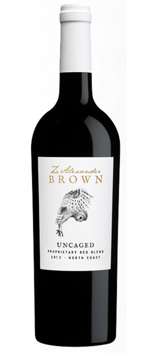 Z. Alexander Brown Uncaged 2013 Proprietary Red Blend Bottle