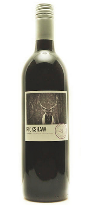 Rickshaw Wines 2011 Cabernet Sauvignon | Red Wine