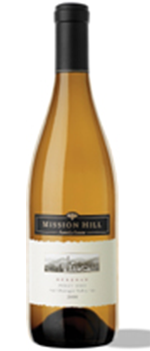 Mission Hill Reserve 2012 Pinot Gris Bottle