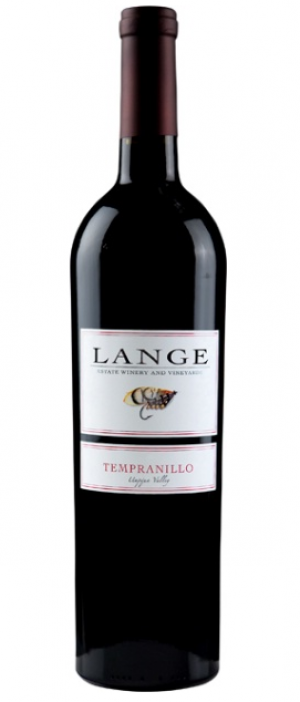 Lange Estate Winery and Vineyards 2012 Tempranillo Bottle