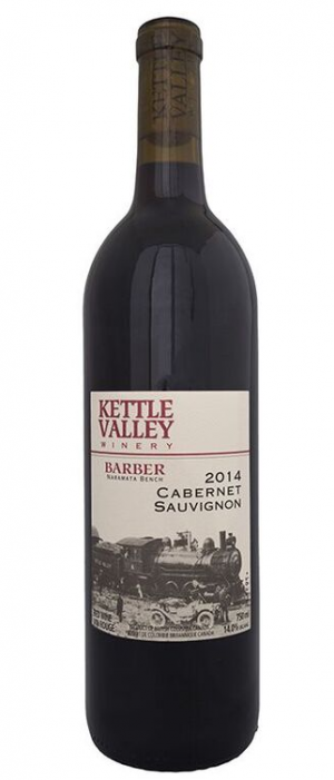 Kettle Valley Winery 2014 Barber Cabernet Sauvignon Bottle