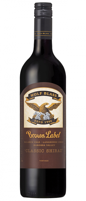 Wolf Blass Brown Label 2012 Classic Shiraz Bottle