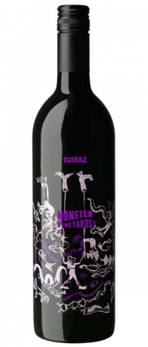 Monster Vineyards NV Shiraz Bottle
