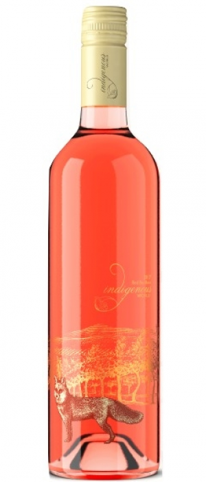 Indigenous World Winery 2017 Red Fox Rosé Bottle
