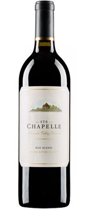 Ste. Chapelle Treasure Valley Reserve Red Blend Bottle