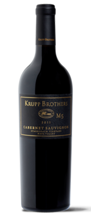 Krupp Brothers M5 Cabernet Sauvignon, Stagecoach Vineyard Bottle