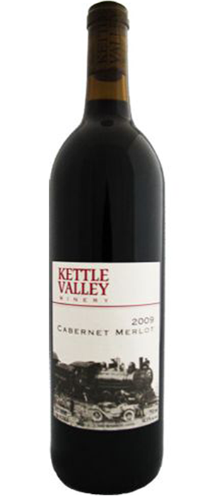 Kettle Valley Winery 2009 Cabernet/Merlot Blend Bottle