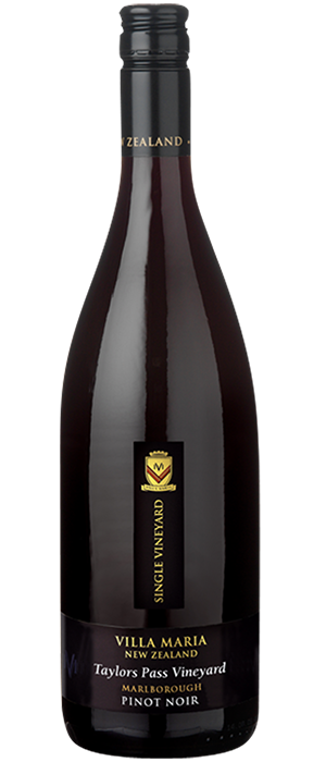 Single Vineyard Taylors Pass Pinot Noir Bottle