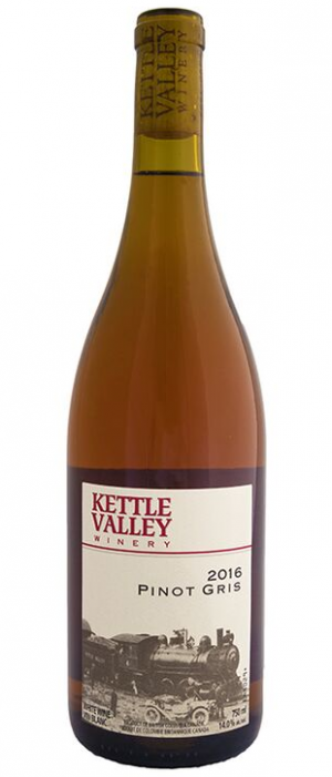 Kettle Valley Winery 2017 Pinot Gris (Grigio) Bottle