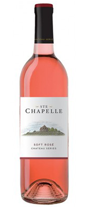 Ste. Chapelle Chateau Series Soft Rose Bottle