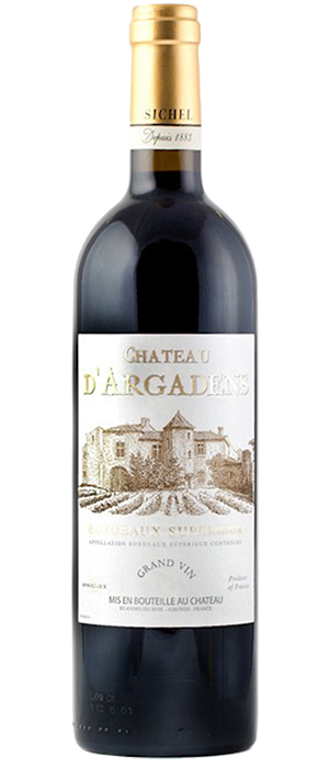 Château d'Argadens Red Bordeaux Bottle