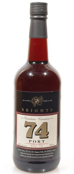 74 Tawny Fortified Bottle