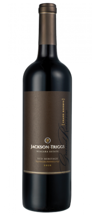 Jackson-Triggs Grand Reserve 2010 Red Meritage  Bottle