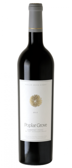 Poplar Grove Winery 2012 Cabernet Franc Bottle