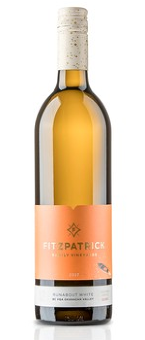 Fitzpatrick Family Vineyards 2017 Runabout White Bottle