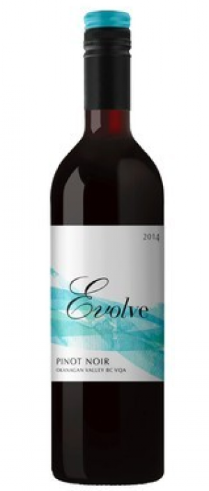 Evolve Cellars 2014 Pinot Noir Bottle