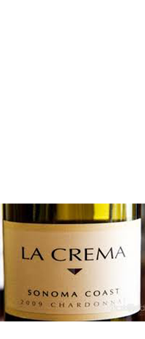 La Crema 2009 Chardonnay Bottle