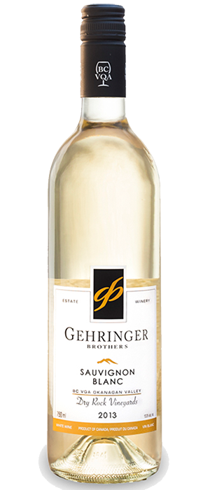 Gehringer Brothers Dry Rock Vineyards 2013 Sauvignon Blanc Bottle