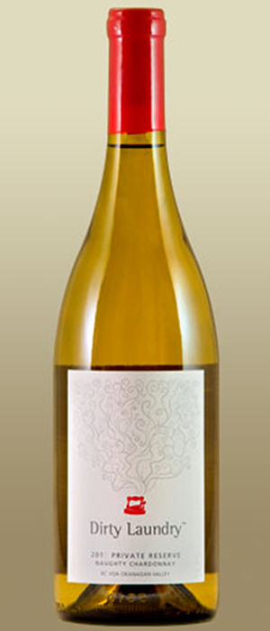 Dirty Laundry Naughty Chardonnay 2011 Bottle