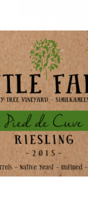 Pied de Cuve Riesling 2015 | White Wine