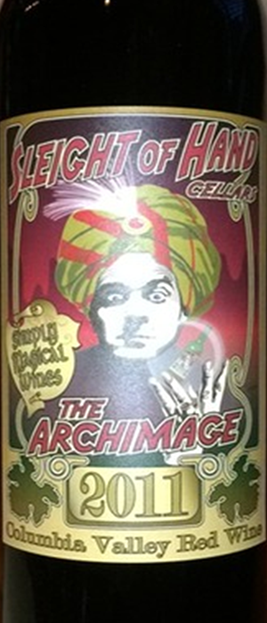 Sleight of Hand Cellars The Archimage 2011 Bottle