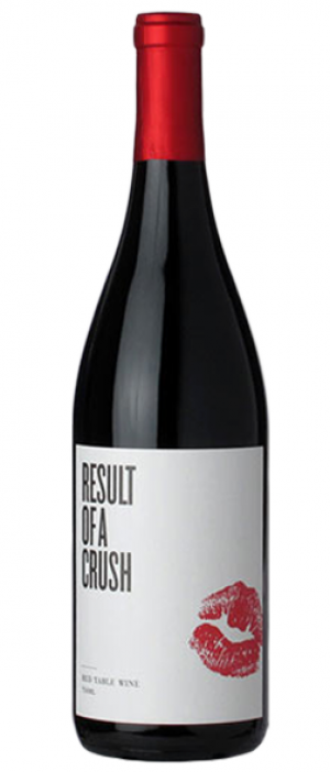 Result of a Crush Red Wine 2013 Bottle