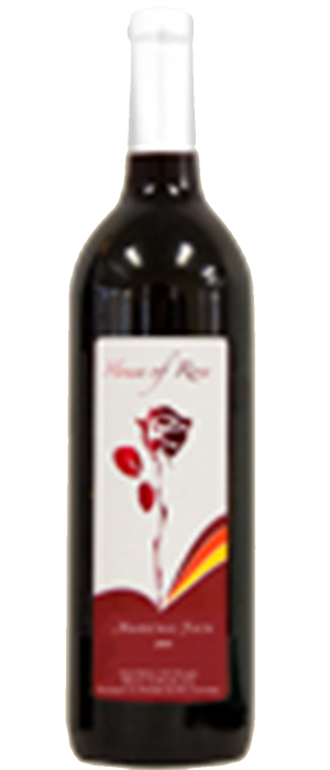 House of Rose 2011 Marechal Foch Bottle