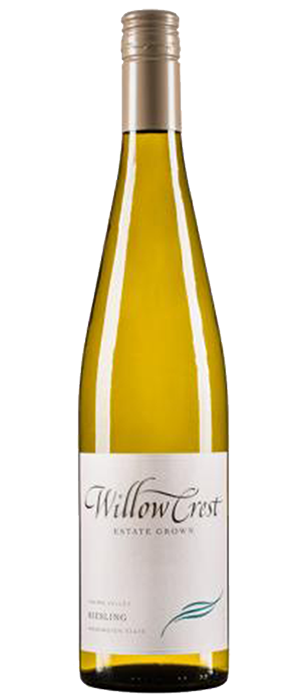 Willowcrest Riesling Bottle