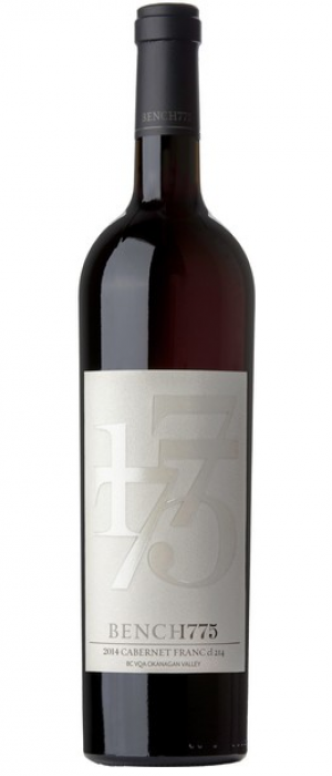 Bench 1775 2014 Cabernet Franc Bottle