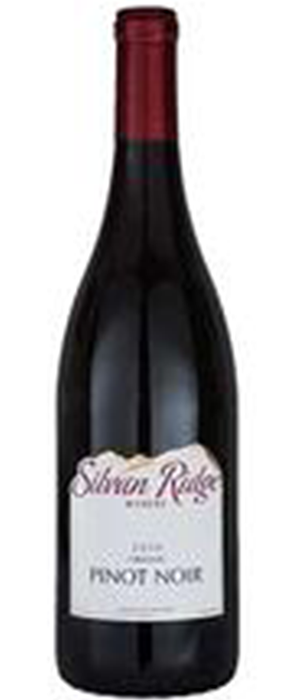 Silvan Ridge 2010 Pinot Noir Bottle